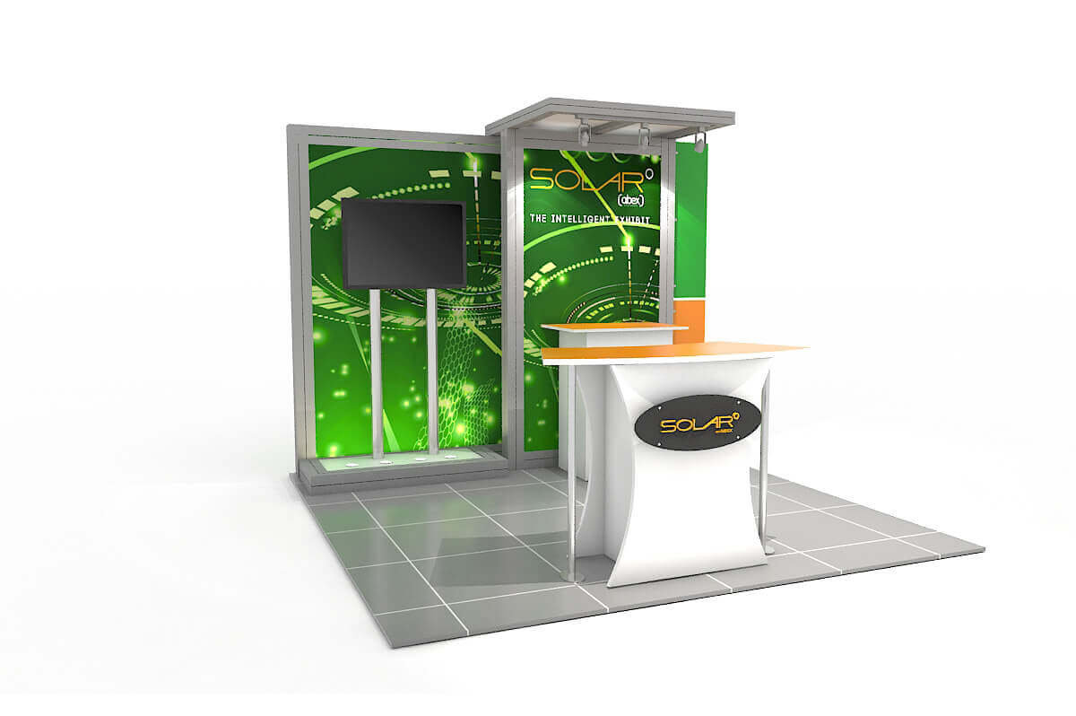 Solar D 10x10 Modular Exhibit by Abex