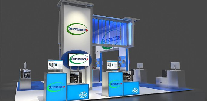 Supermicro - Solar 20x30 Custom Modular Exhibit