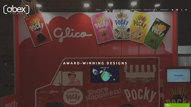 Abex Exhibits - Brand New Website