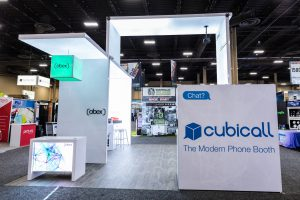 Abex Exhibits Booth - View from the Aisle