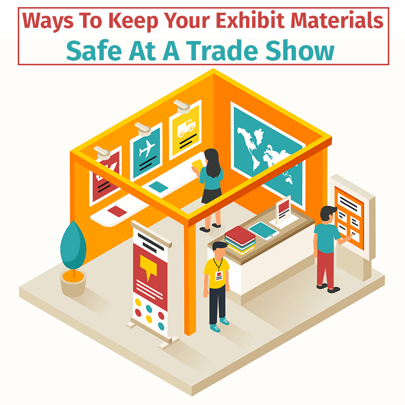 lockable trade show counters
