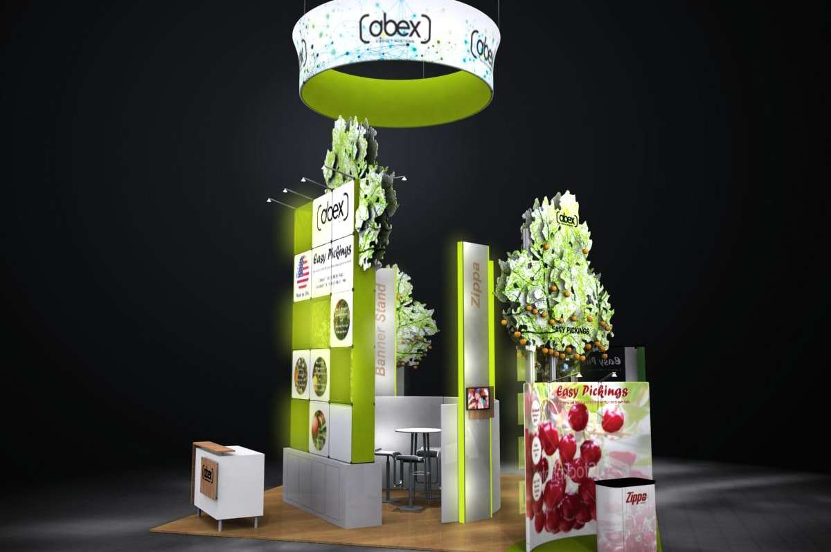 Abex/PPAI - Custom 20x20 Modular Exhibit