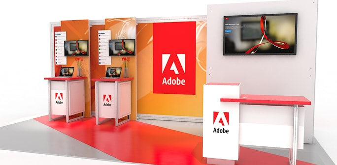 Adobe - 10x20 Solar Modular Exhibit