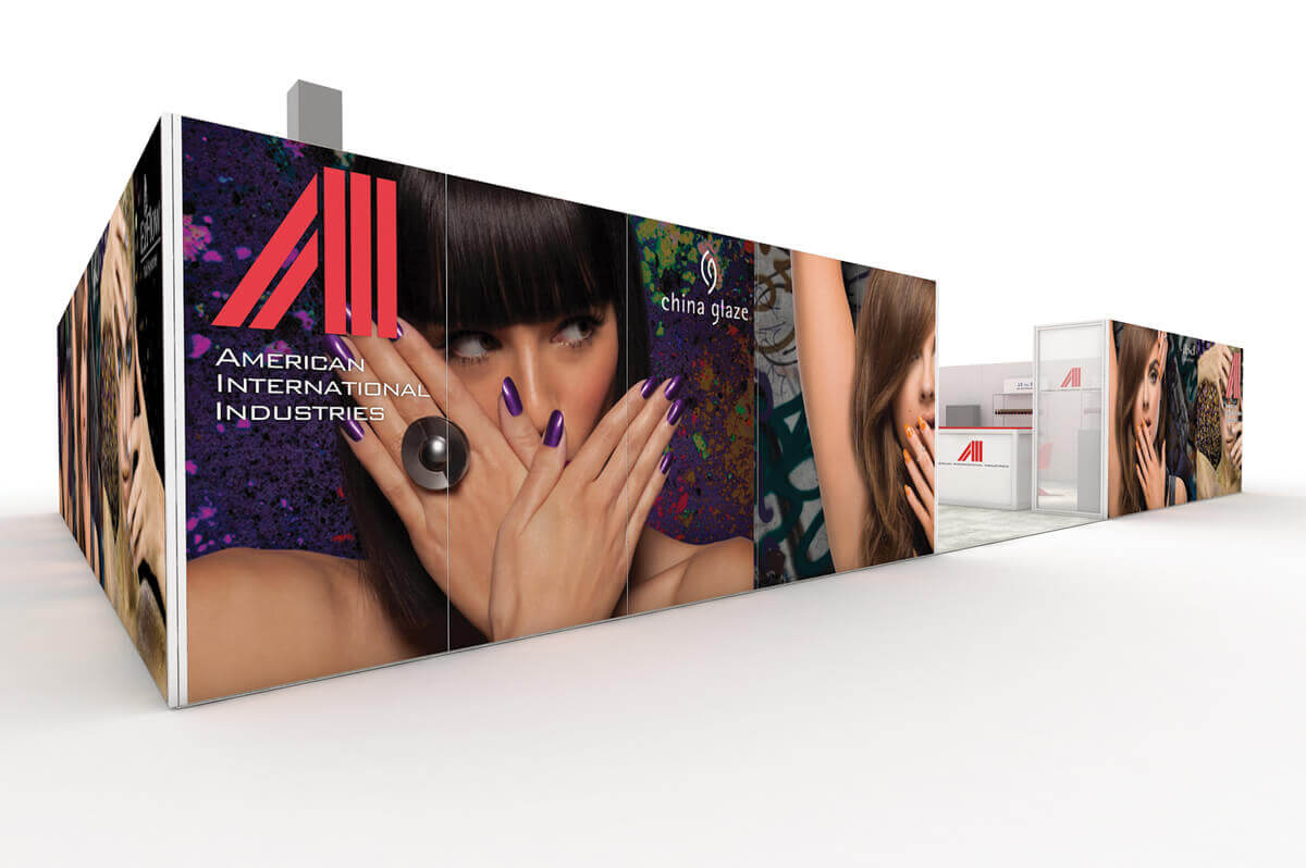 American International - Solar 20x30 Custom Modular Exhibit