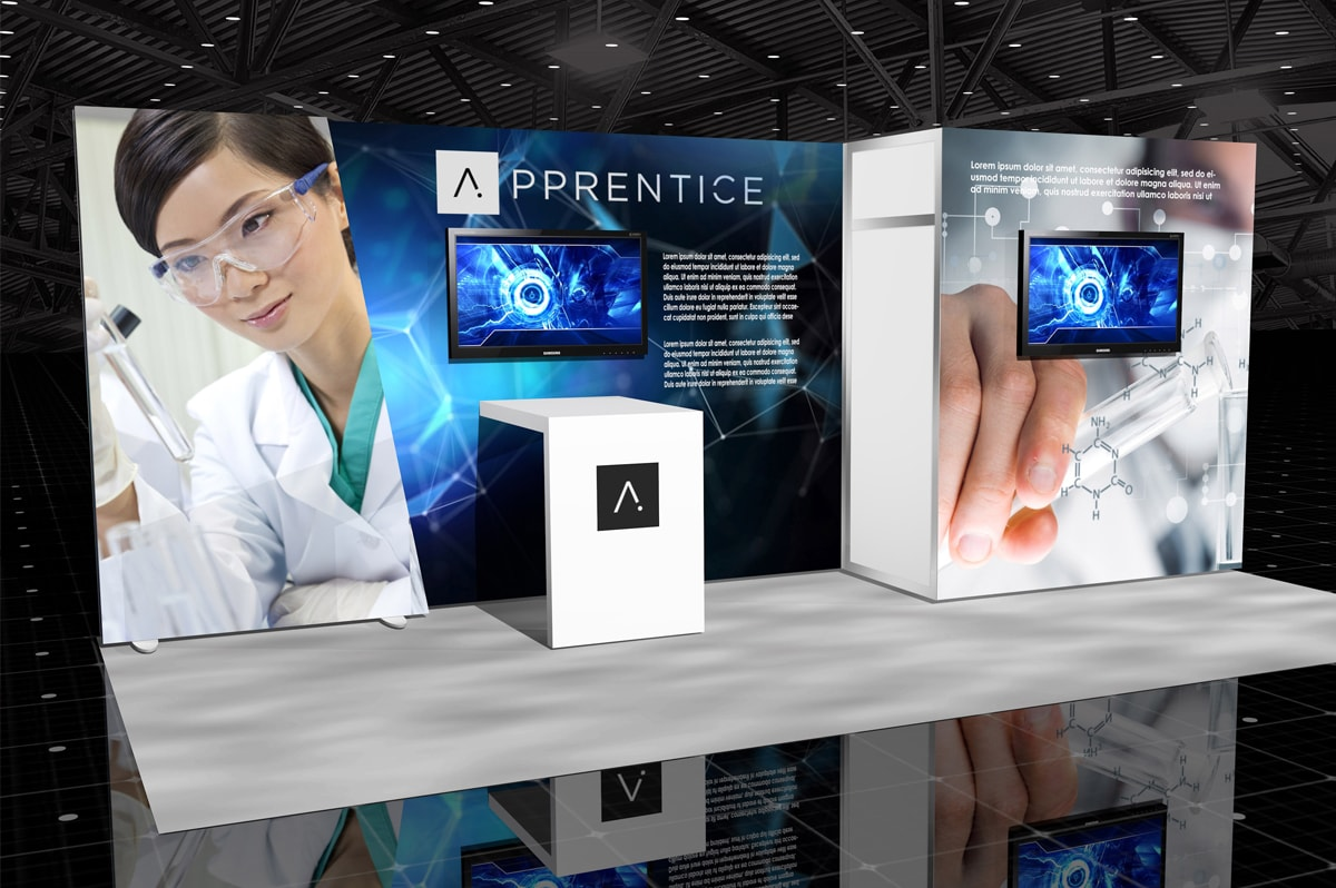 Apprentice - 10x20 Lumiwall Modular Exhibit