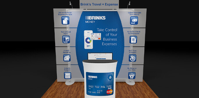 Brinks 10x10 Exhibit Design