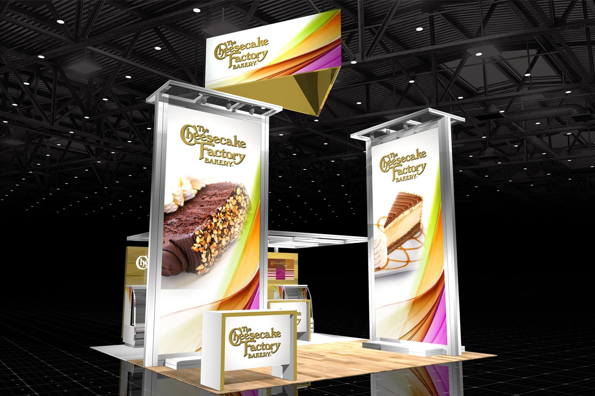 Cheesecake Factory Bakery - 20x20 Solar Modular Exhibit