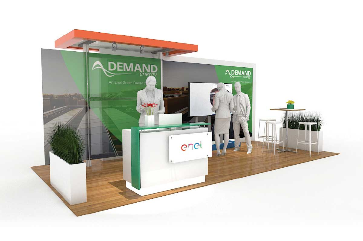 Demand Energy - Solar 10x20 Modular Exhibit