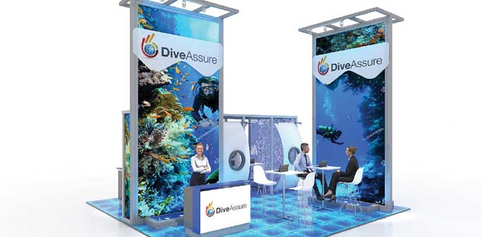 Dive Assure - Solar 20x20 Modular Exhibit