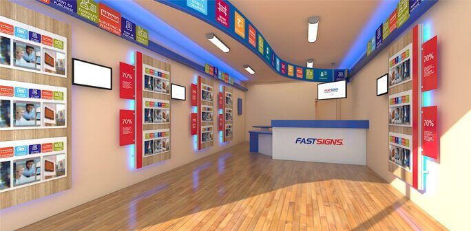 FastSigns - 20x30 Custom Retail Store Design