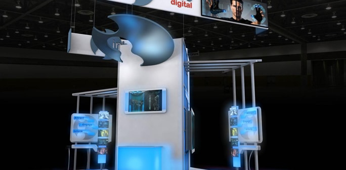 Inhance Digital - Solar 20x20 Modular Exhibit