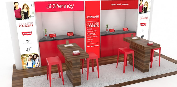 JC Penney - Custom 10x20 Modular Panel System