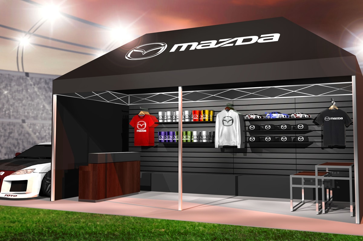 Mazda - 10x20 Custom Outdoor Exhibit Solution