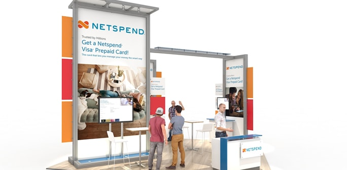 Netspend - Solar 20x20 Modular Exhibit