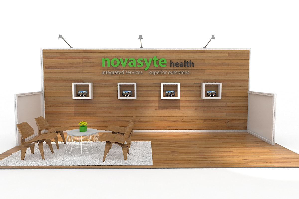 Novasyte - Custom 10x20 Modular Exhibit