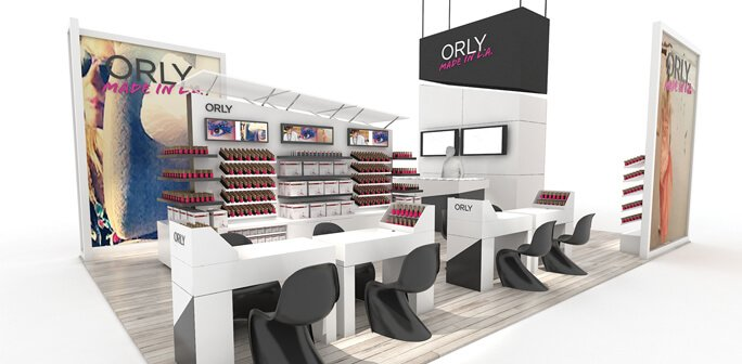 ORLY - Solar 20x30 Custom Modular Exhibit
