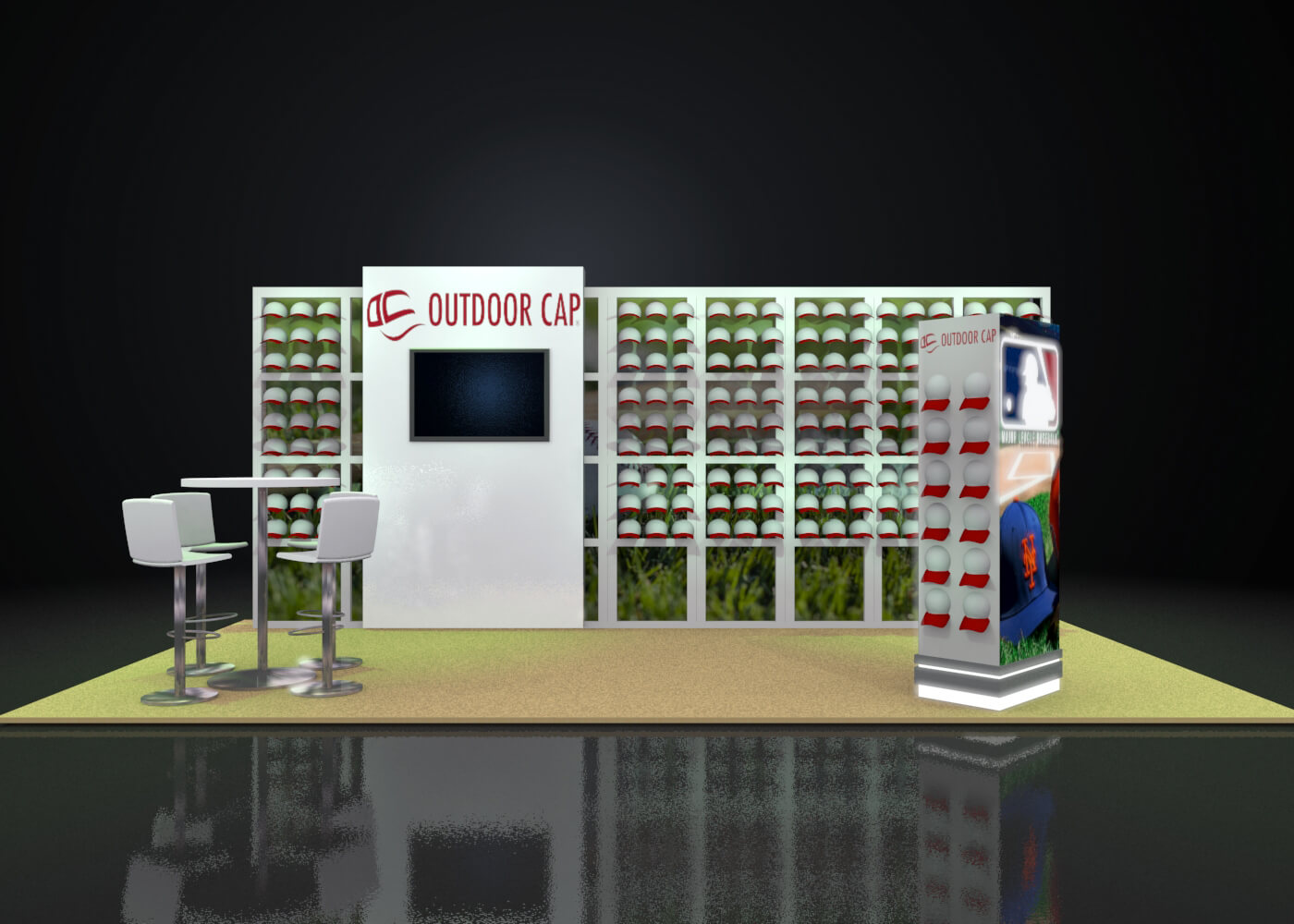 Custom Modular Exhibit