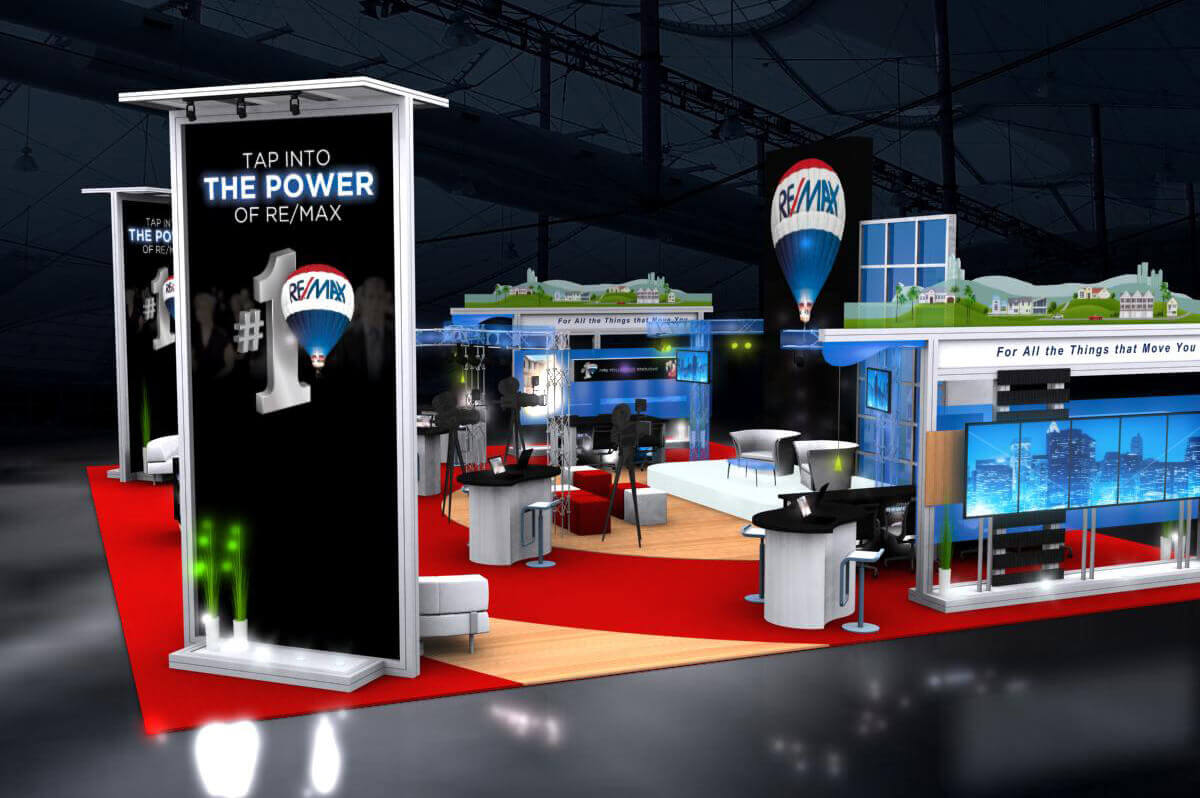 ReMax - Solar 20x30 Custom Modular Exhibit