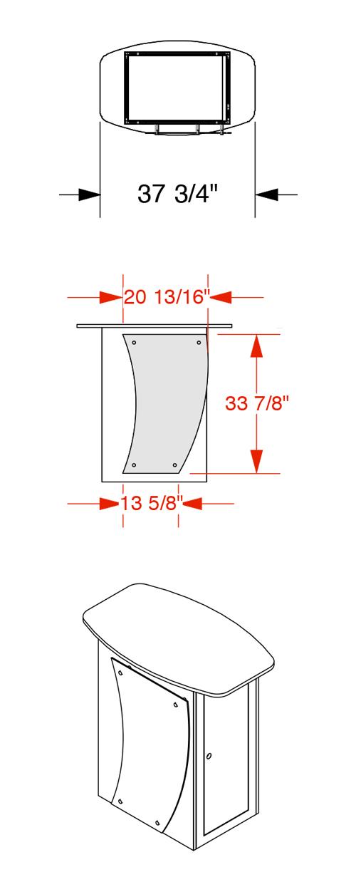 Solar Knock-Down Counter 05 Specs