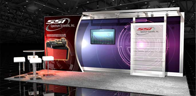 SSI Optics - 10x20 Solar Modular Exhibit