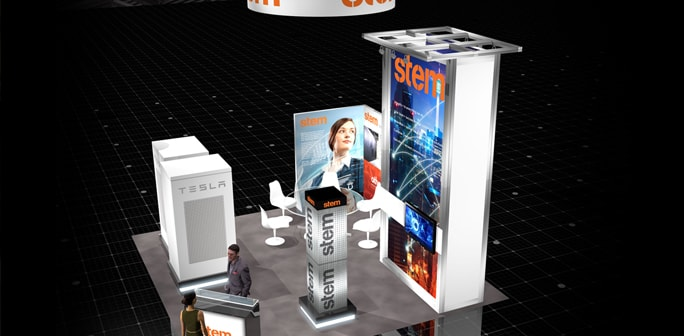 Stem - 20x20 Custom Solar Modular Exhibit