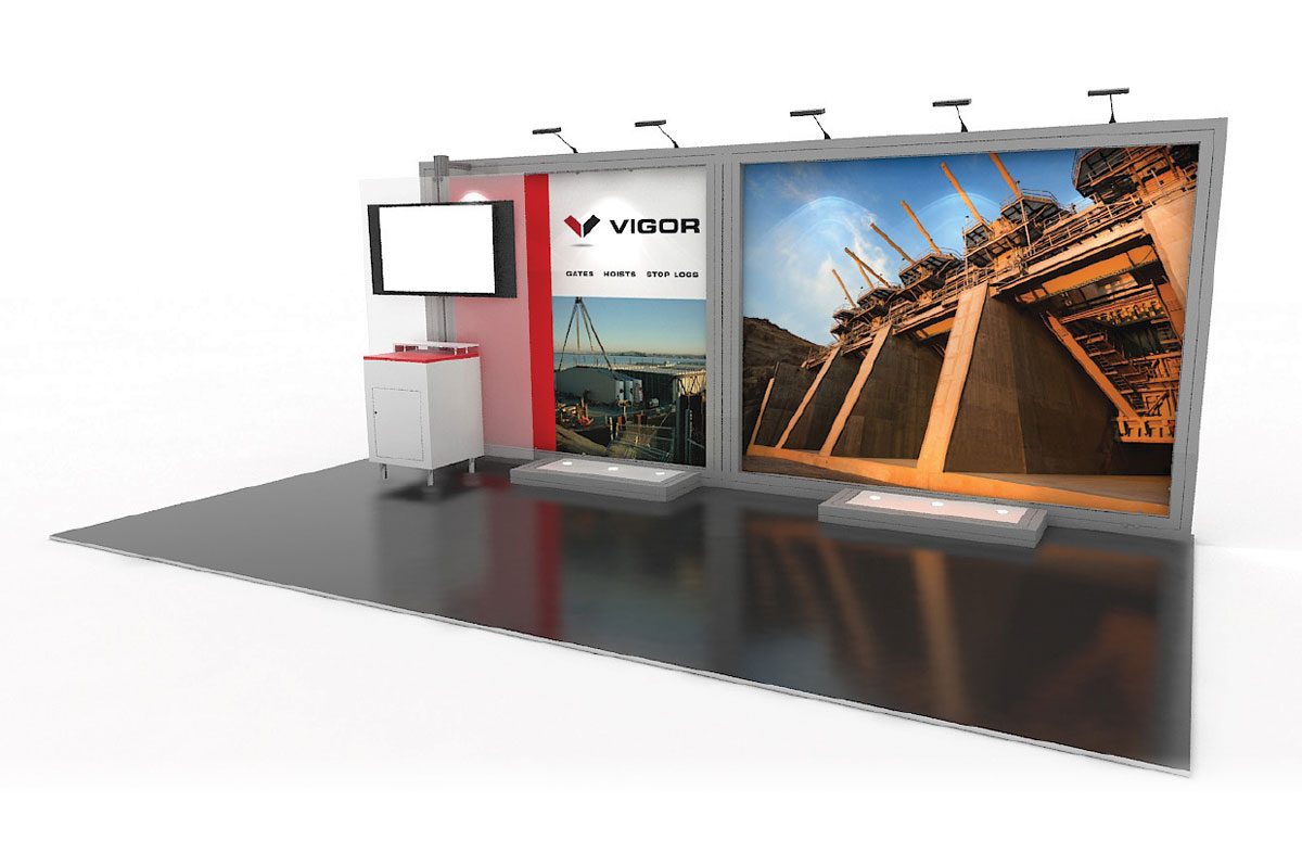 Vigor - 10x20 Solar Modular Exhibit